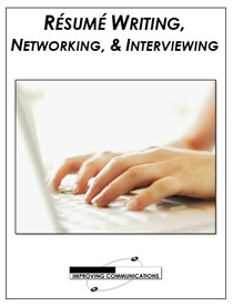 Resume writing Networking