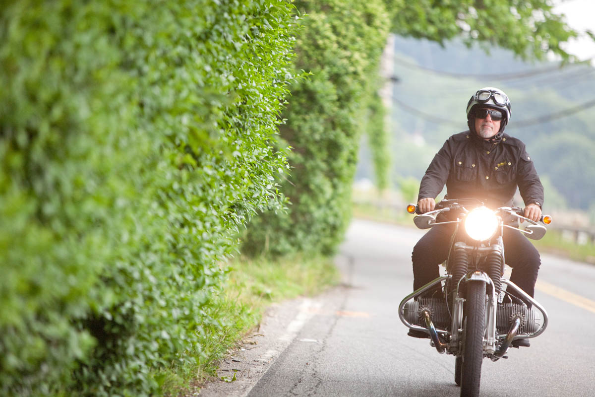 Motorcycles With Billy Joel Riding Retro
