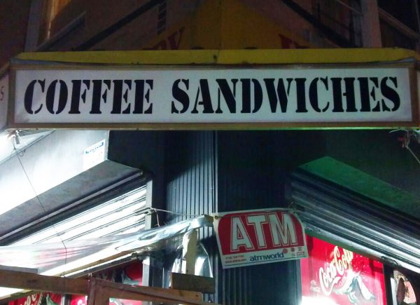 Epic Fail - Coffee Sandwiches