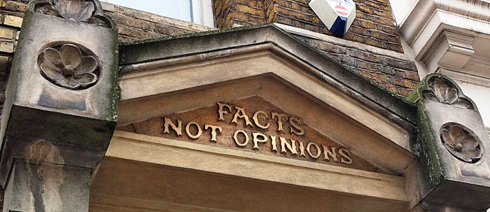 opinion and fact