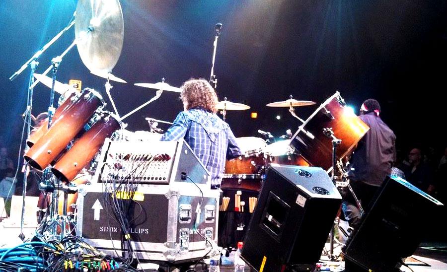 Simon Phillips - playing